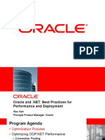 Oracle and .NET - Best Practices for Performance and Deployment