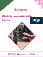 Cuadernillo de preguntas comunicacion juridica Saber Pro