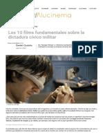 Los 10 films fundamentales sobre la dictadura cívico militar _ Rankings _ Alucinema