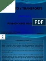 conceptos INTERSECCIONES SEMAFORICAS