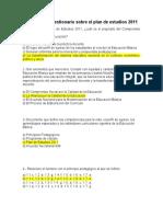 Actividad 2 cuestionario sobre el plan de estudios 2011.docx