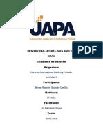 derecho internacional publico y privado tarea #2