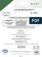 CERTIFICADO CABLE AISLADO.pdf
