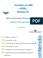NIC 34 - Informacion Financiera Intermedia