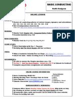 basic conducting online lesson plan 4 7