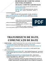 C1- ARI - ARHITECTURI DE REŢELE DE COMUNICAŢII ŞI ARHITECTURA INTERNET1.ppt