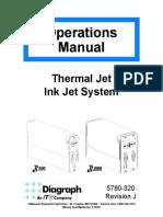 MANUALS BOOK OF DIAGRAPH TJ 500 1000