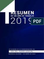 Jurisprudencias Informe 2019 Poder Judicial-Libertad Probatoria y Sospecha razonable