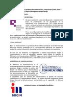 Asociaciones y grupos de profesionales de Informática
