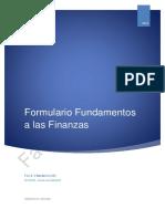 Fundamento de las Finanzas