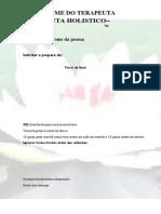 MODELO DE RECEITUÁRIO