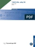 Alloy59-adatlap