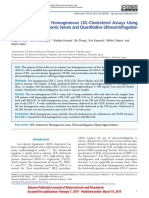 Comparison of Two Homogeneous LDL-Cholesterol Assays Using Fresh Hypertriglyceridemic Serum and Quantitative Ultracentrifugation Fractions.pdf