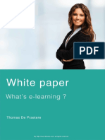 White Paper Dokeos e Learning