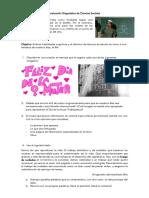 PBA - Ciencias Sociales 1 ES Efeméride 8M - Evaluación Diagnóstica (2018)