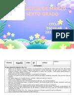Planeacion de marzo - 6to Grado 2019 - 2020.docx