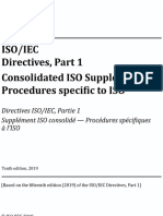 ISO_IEC Directives, Part 1 — Consolidated ISO Supplement — Procedures specific to ISO