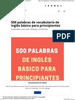 500 palabras de vocabulario de inglés básico para principiantes.pdf