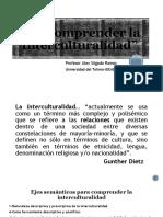 Para comprender la interculturalidad