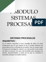 V, VI, VII MODULO SISTEMAS PROCESALES Y PARTES PROCESALES  segundo parcial
