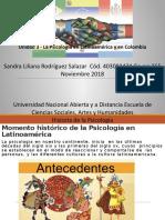 Trabajo Fase 3- Psicologia en Latinoamérica y Colombia