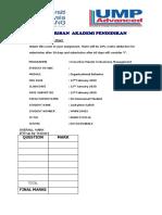 Organizational Behavior in Air Asia