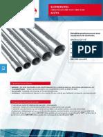 Catálogo Técnico Eletrodutos Naville ELT P3