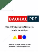 Bauhaus - Introdução histórica e teoria do design