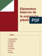 ELEMENTOS DE LA EXPRESION PLASTICA