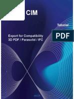 midas CIM Tutorial - Export Model