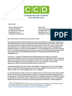 Disabilities Letter 1