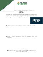 TALLER PRIMER PERIODO DE COOPERATIVISMO -  8°