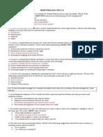 RENR PRACTICE TEST 11