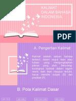 Kalimat dalam Bahasa Indonesia Kel. 4