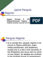 The Philippine Pangulo Regime