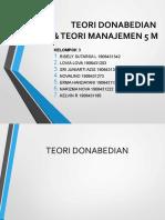 TUGAS DONABEDIAN & 5M KEL 3