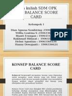 TEORI BALANCE SCORE CARD