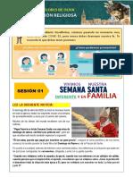 SESIÓN 01 - SEMANA SANTA DIFERENTE