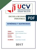 ECTRÓNICA Y ELECTRICIDAD-SEDE CHEPEN- IV CICLO-TURNO MAÑANA-FAJA TRANSPORTADORA