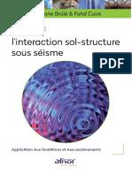 2018 - Pratique de l'intéraction Sol-structure Sous Séisme - Brûlé & Cuira