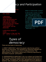 democracy and partiipation