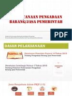 kebijakan perencanaan pbjp bpka