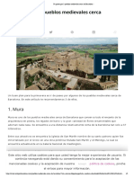 Un paseo por 3 pueblos medievales cerca de Barcelona -