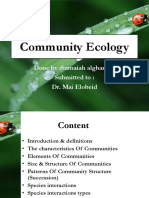 Communityecology 1 Sumia 181210145908