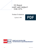 Ruberoid Membranes GAFGLAS BUR Base Sheets Ply Sheets a-54-188-V1