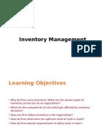 Inventory Management-MBA -Logistics