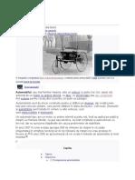 Cautare wikipedia - automobil