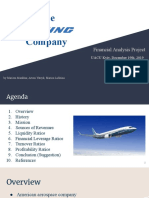 The Boeing Company Financial Analysis -3