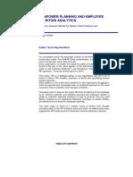 Manpower Planning and Employee Attrition Analytics