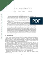Fair allocation of indivisible public goods